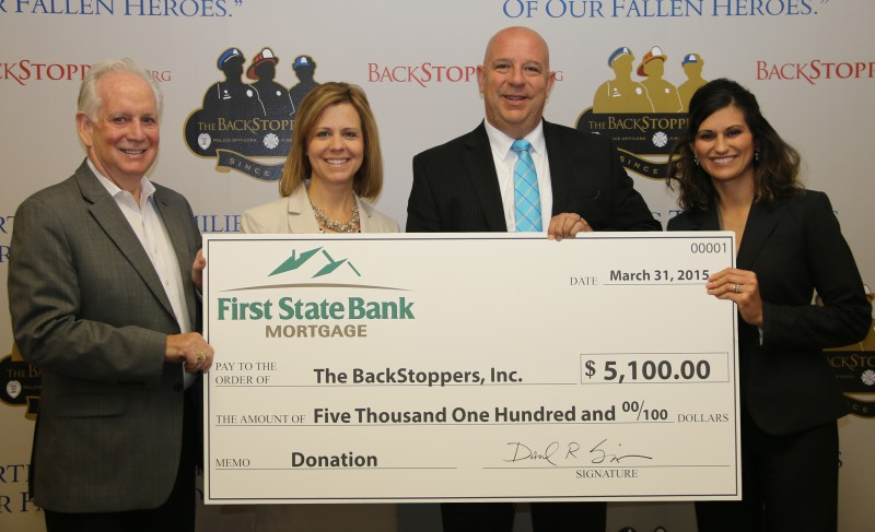 BackStoppers Donation